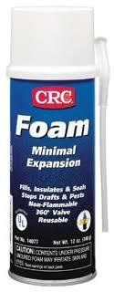 12OZ CRC  MINIMAL EXPANSION FOAM