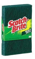 31D SCOTCH BRITE (3PCS)