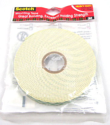 12MM*4M 3M H/D MOUNTING TAPE
