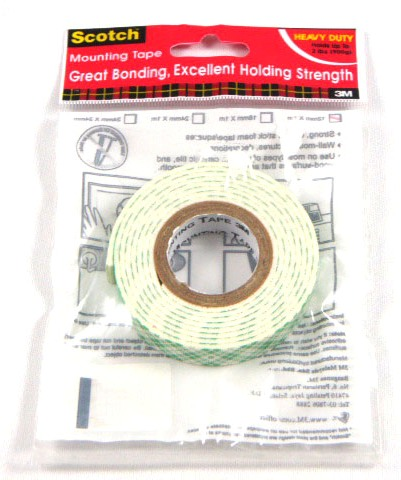 12MM*1M 3M H/D MOUNTING TAPE