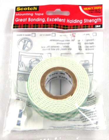 18MM*1M 3M H/D MOUNTING TAPE