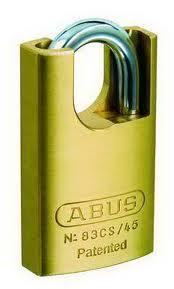 83CSRK/45 ABUS ALLOY STEEL PADLOCK