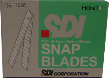 1403C 9mm SDI SMALL CUTTER BLADE (100PCS)