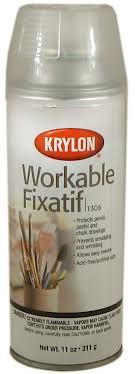 11oz Krylon Workable Fixative