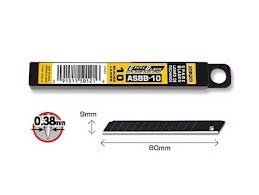 ASBB-10 9MM OLFA ULTRA SHARP SPARE BLADE (10PCS)
