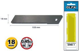 SWB-1 18MM UTILITY SAW BLADE