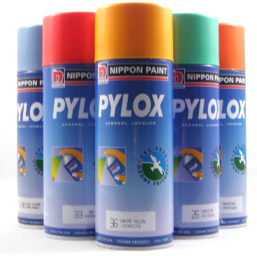400ml Pylox Aerosol Spray Paint (Standard)
